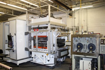 R2R Punch Press with Vision Inspection and Microclean